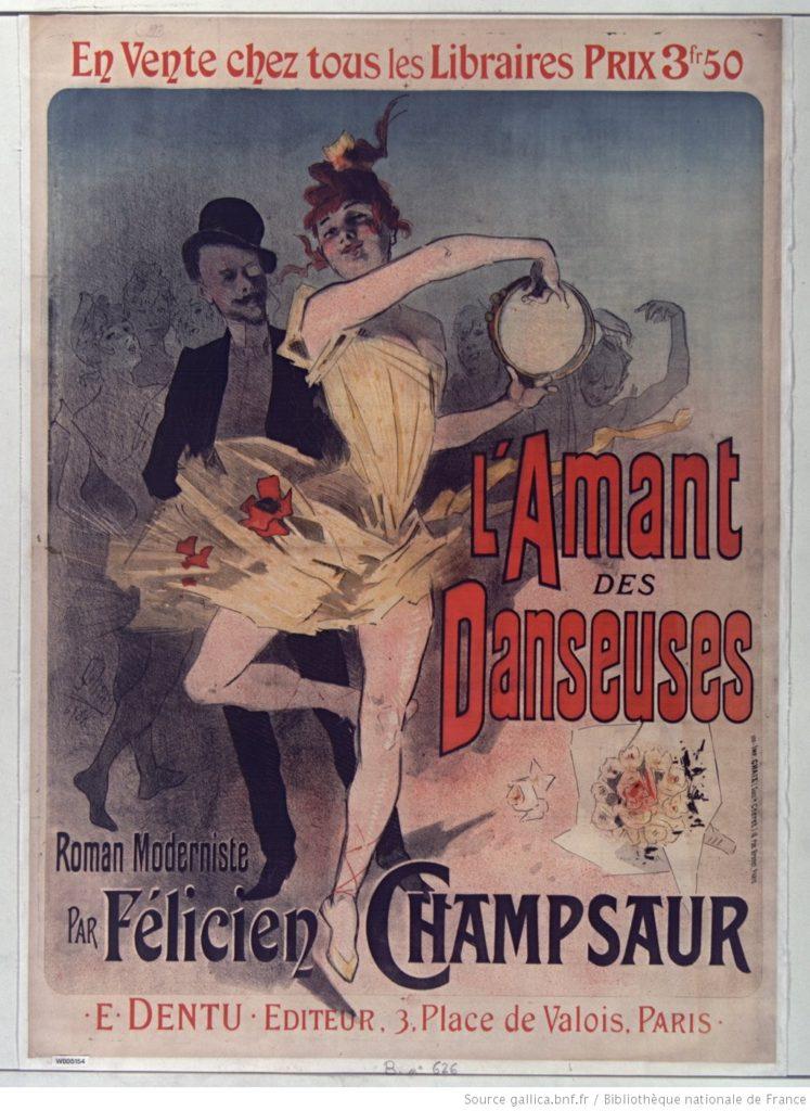 L'amant des danseuses 1888