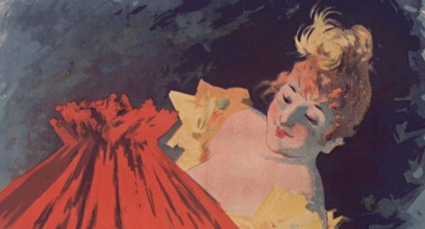 La Saxoléine de Jules Chéret (1891)