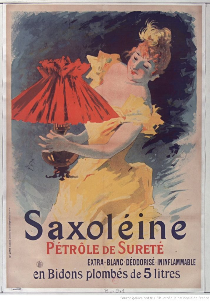 Saxoléine 1891